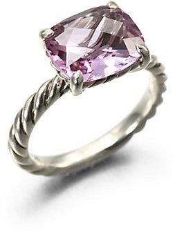 David Yurman Amethyst & Sterling Silver Ring