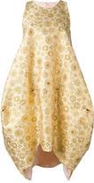 Antonio Berardi jacquard asymmetric dress - women - Polyester/Acrylic - 38