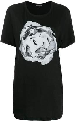 Ann Demeulemeester contrast print T-shirt