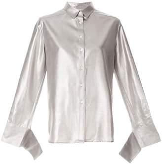 CHRISTOPHER ESBER oversized long-sleeve shirt