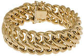 "Arte d'Oro 8"" Polished Figure-Eight Bracelet, 1"