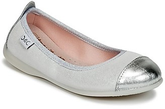 Citrouille et Compagnie ISAPRO girls's Shoes (Pumps / Ballerinas) in Silver