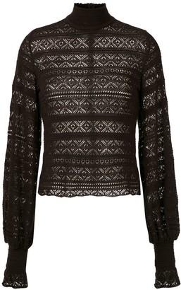 Cecilia Prado knitted Melinda blouse