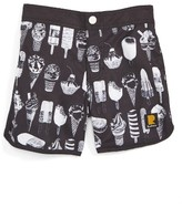 Rock Your Baby Toddler Boy's Cool Kids Board Shorts