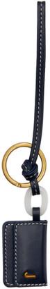 Jacquemus Navy Le Porte Cle Riviera Keychain
