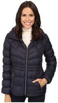 MICHAEL Michael Kors Short Zip Front Packable M822338T Women's Coat