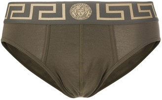 Versace Greca-border briefs