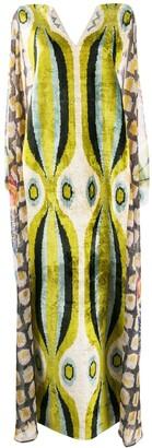 Afroditi Hera Draped Maxi Dress