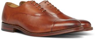 Grenson Bert Cap-Toe Leather Oxford Shoes