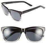 Ted Baker Men's 56Mm Polarized Retro Sunglasses - Black Fade