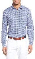 Maker & Company Men's Regular Fit Gingham Sport Shirt