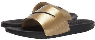 Nike Kawa Slide (Black/Black/Metallic Gold) Men's Slide Shoes