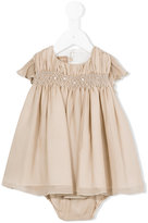 La Stupenderia embellished crochet panel dress - kids - Silk/Acetate/Viscose - 6 mth