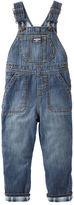 Osh Kosh Flannel-Lined Denim Overalls - Heritage Indigo
