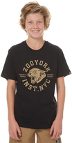 Zoo York Kids Boys Pounce Tee Black