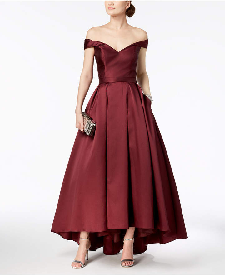 Xscape Evenings Off-The-Shoulder Sweetheart Gown