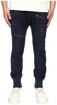 Pierre Balmain Classic Zipper Trousers Men's Casual Pants