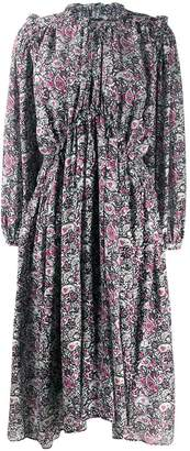 Isabel Marant paisley print flared dress