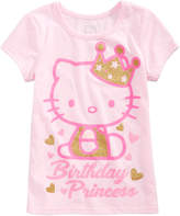 Hello Kitty Toddler Girls Birthday Princess T-Shirt