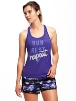 Old Navy Go-Dry Racerback Performance Tank for Women