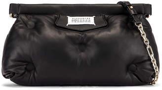 Maison Margiela Glam Slam Chain Crossbody Bag in Black | FWRD