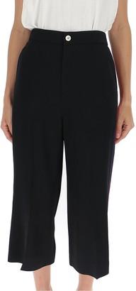 Gucci Stripe Trim Capri Pants