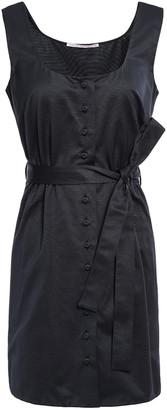 Emilia Wickstead Kari Cotton-blend Faille Mini Dress