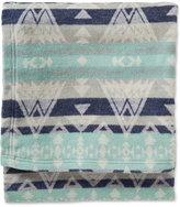 Pendleton Cotton Jacquard High Peaks Twin Blanket