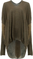 Masnada slouchy oversized jumper