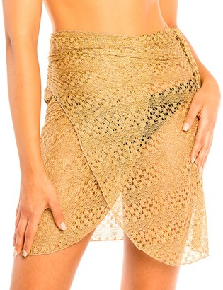 Jordan Taylor Women's Beachwear Pareo Wrap Skirt