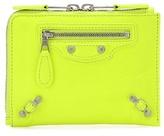 Balenciaga Leather Zip-around Wallet