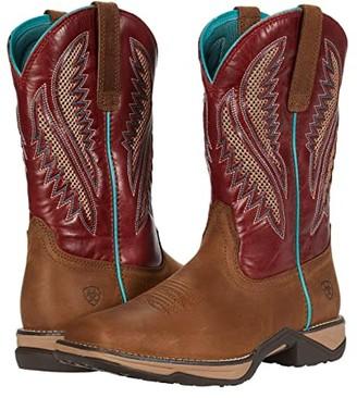 Ariat Anthem VentTEK (Chocolate Chip/Turquoise) Cowboy Boots