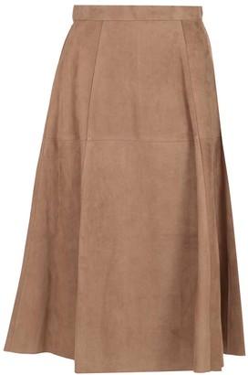 'S Max Mara A-Line Midi Skirt