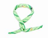 Hermes Green Fleurs de L'Opera by J Abadie Silk Scarf