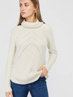 Monsoon Christy Cowl Neck Jumper - Ivory