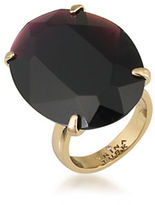Trina Turk 14K Gold-Plated Oval Stone Cocktail Ring