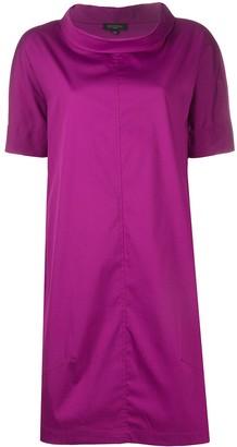Antonelli High-Neck Short Dress