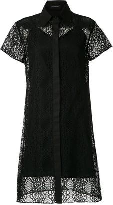 Olympiah Tournesol lace short dress