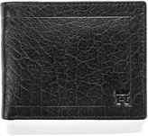 Haggar Buff Crunch Passcase Leather Wallet