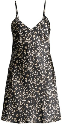 Ginia Panthere Leopard Silk Chemise