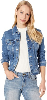 AG Jeans Women's Robyn Fitted Stretch Denim Jacket