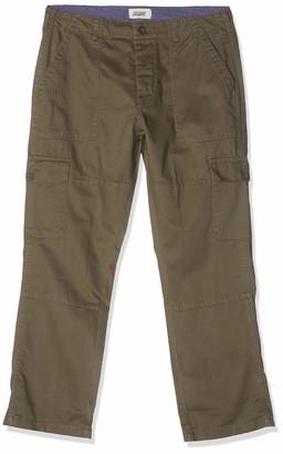 Jacamo Men's Fatigue Detail Cargo Trouser 29 Inches (Shorter Length)