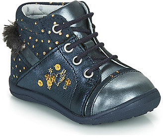 Catimini ROULETTE girls's Mid Boots in Blue