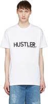 Hood by Air White hustler T-shirt