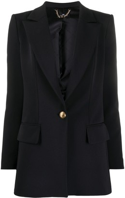 Elisabetta Franchi Fitted Single-Breasted Blazer