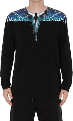 Marcelo Burlon County of Milan Wings Long Sleeves T-shirt