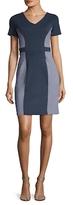 Susana Monaco Cate Colorblocked Sheath Dress