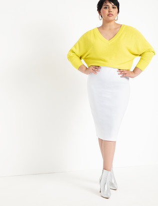 ELOQUII Ponte Knit Skirt