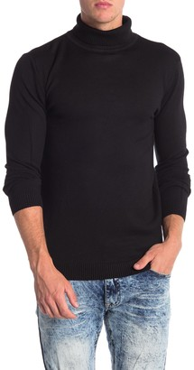 X-Ray Xray Ribbed Turtleneck Sweater