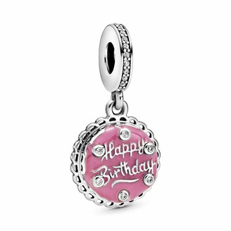 Pandora Women Sterling Silver Other Form Cubic Zirconia Charm - 798888C01